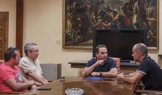 Reunión entre la Asociación Provincial de Auto-Taxis y el Ayuntamiento de Guadalajara