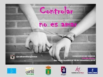 Cabanillas organiza un concurso juvenil de vídeos contra el machismo