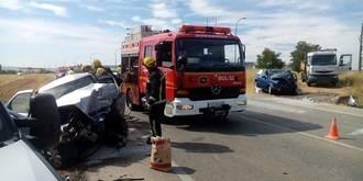 Dos personas pierden la vida en un accidente en la CM-101 a la altura de Yunquera