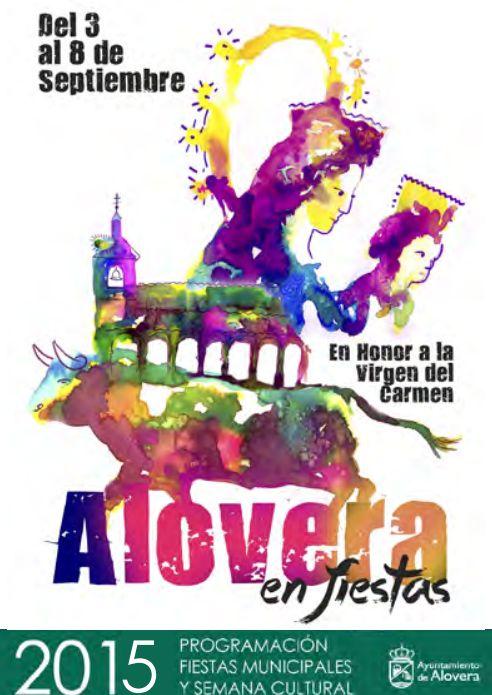 Del 3 al 8 de septiembre, Alovera será una fiesta