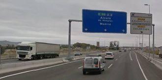 Fallece una mujer atropellada en la A2 a la altura de Azuqueca