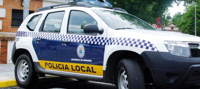Ciudadanos reclama mejoras para la Policía Local de Azuqueca