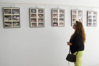 Una exposición fotográfica rinde homenaje a las 40 ediciones del Desfile de Carrozas