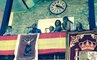 La ex colaboradora de Sálvame, Rosa Benito, ofrece el pregón en Almoguera