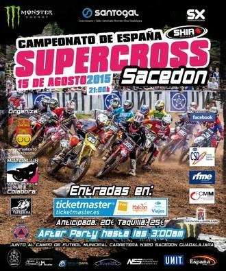 Santogal Motor regala cuatro entradas para la prueba del Campeonato de España de Supercross en Sacedón