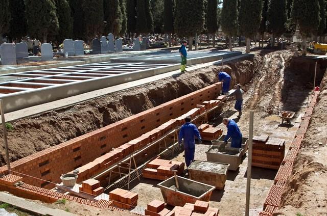 El cementerio de la capital cuenta con 90 nuevos nichos