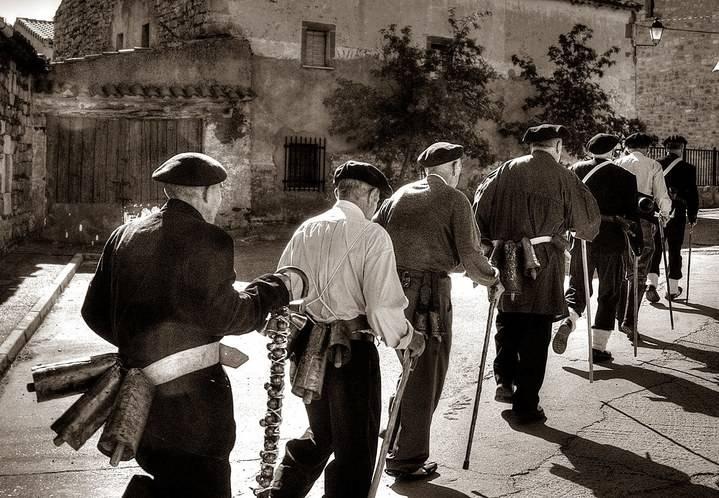 Diputación declara la fiesta de los Cencerrones de Cantalojas y el Belén Viviente de Uceda de Interés Turístico Provincial