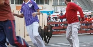 El primer encierro de las Ferias de Guadalajara, limpio y sin heridos