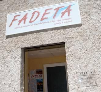 FADETA presenta su modelo de cohesión territorial
