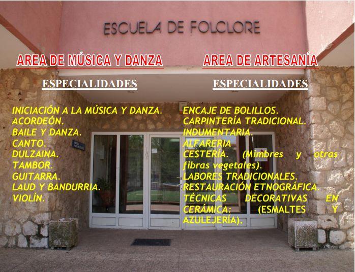 El lunes se abre el plazo de matrícula libre en la Escuela de Folklore