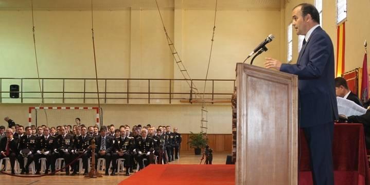 """Gregorio felicita a la Policía Nacional por la """"imprescindible"""" labor que desarrolla como """"auténticos garantes de la unidad nacional"""""""