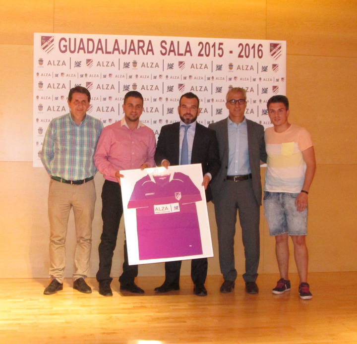Alza, nuevo patrocinador del club Guadalajara Sala y su escuela