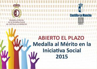 Abierto el plazo para presentar candidaturas a la Medalla al Mérito en la Iniciativa Social de Castilla-La Mancha 2015