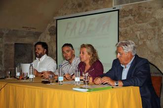 FADETA mostró su visión del pasado y sus expectativas de futuro a su comarca