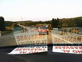 Cientos de personas se vuleven a manifestar en contra del trasvase Tajo-Segura