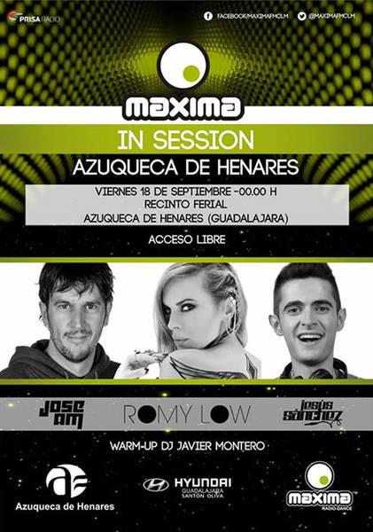 El concierto 'Máxima CLM-In Session', anticipo de las fiestas de Azuqueca