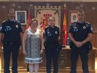 La Policía Local de Alovera actualiza su indumentaria