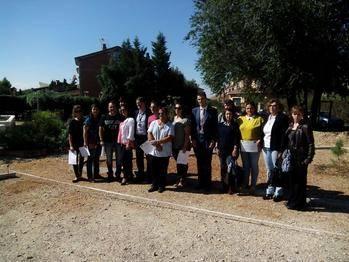 El Taller de Empleo de Empleo 'Huerto Ecológico y Jardinería' llega a su fin en Villanueva de la Torre