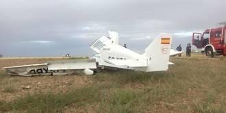 Fallecen tres personas en un accidente de avioneta en Guadalajara