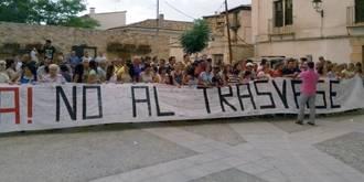 El 26 de septiembre, nueva protesta de los municipios ribereños contra el trasvase