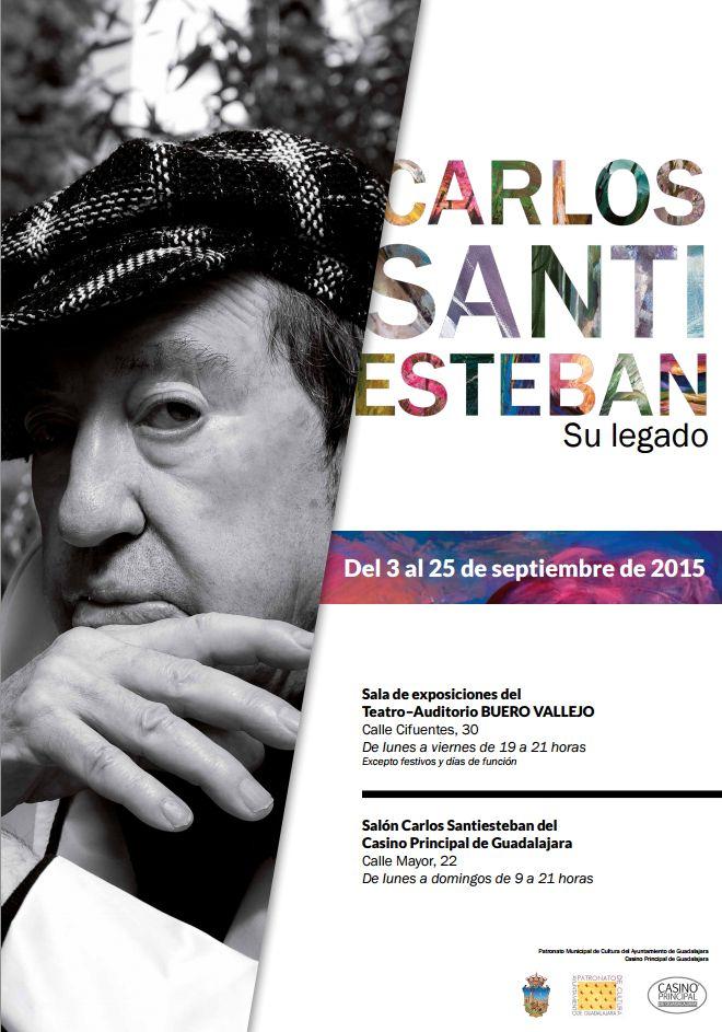 Guadalajara rinde homenaje al pintor Carlos Santiesteban