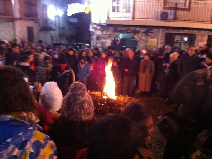 Las hogueras de la Purísima, primeras luces de la Navidad en Horche a partir del lunes