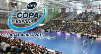 Guadalajara será la sede de la XXVII Copa de España de Fútbol Sala