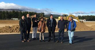 La ampliación y mejora del aeródromo de Hiendelaencina estará concluida a mediados de diciembre