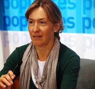 """Ana Guarinos: """"Las listas del PP están formadas por personas comprometidas con España, con Castilla-La Mancha y con Guadalajara"""""""