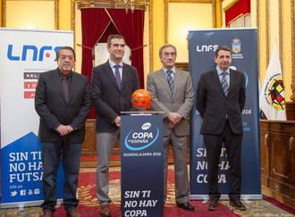 Guadalajara presenta la que será su Copa de España de Fútbol Sala