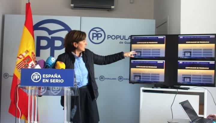 """Ana González: """"España necesita el gobierno fuerte, estable y con experiencia del PP que nos permita seguir avanzando"""""""