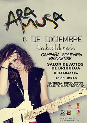 Ara Musa, rock este domingo en el Salón de Actos de Brihuega