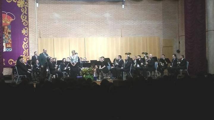 El presidente de la Diputación asiste al 'Concierto de Santa Cecilia' de la Banda Provincial de Música