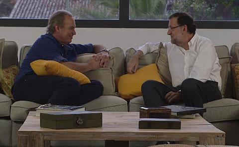 """Bertín Osborne: """"Voy a votar a Rajoy, es un tipo brillante"""""""