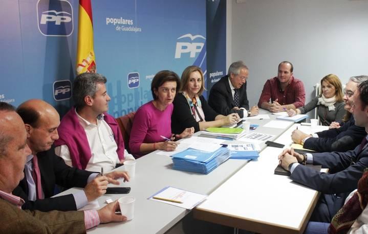 Los candidatos del PP de Guadalajara afirman que solo con Rajoy es posible que España llegue a los 20 millones de empleos