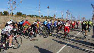 180 personas participaron en una magnífica Carrera Ciclista del Pavo