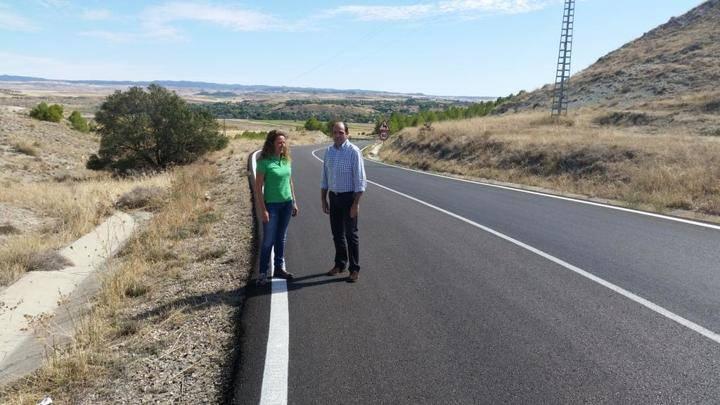 La Diputación finaliza las obras de mejora de las carreteras de Illana y de Azañón a Morillejo