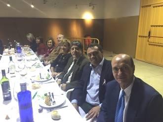 El diputado de Bienestar Social asiste a la cena benéfica anual de la Asociación Contra el Cáncer de El Casar