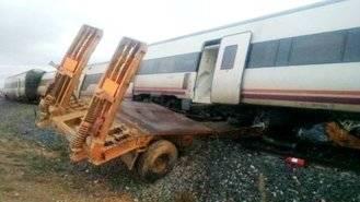 Dados de alta los seis heridos que seguían ingresados tras el choque de un tren y un trailer en Manzanares