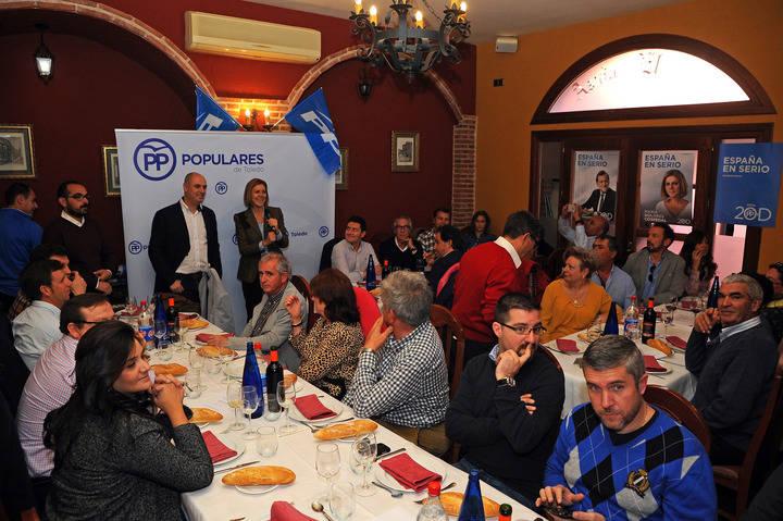 """Cospedal subraya que en las próximas elecciones generales """"cada voto cuenta"""" para que gobierne el Partido Popular"""