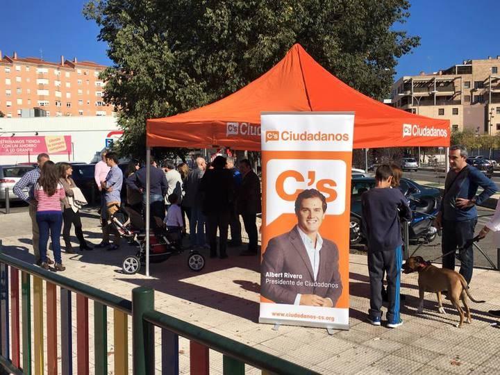 A Ciudadanos le ha sobrado avales para presentarse a las generales en Castilla-La Mancha