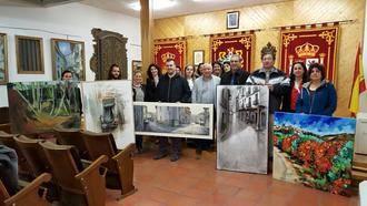 Marián Calvo vence en el XXVI Certamen de Pintura Rápida de Horche