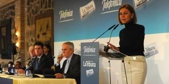 """Cospedal: """"El PP va a estar en Castilla-La Mancha y en el resto de España siempre a favor de los gobiernos que bajen los impuestos"""""""