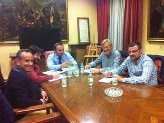 Continúan los contactos para informar sobre la Estrategia de Dinamización del Casco Histórico