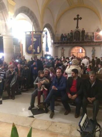 El presidente de la Diputación asiste en Cantalojas a la fiesta de Los Cencerrones, de Interés Turístico