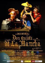 Las locas historias de Don Quijote de La Mancha llegan este domingo al Buero Vallejo
