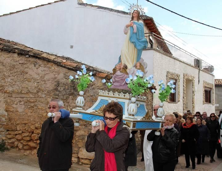 Morillejo se prepara para celebrar sus fiestas patronales en honor a la Inmaculada