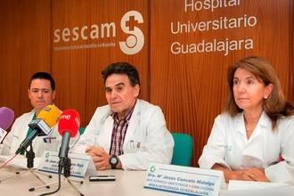 Pacientes, familiares y profesionales sanitarios, juntos en las II Jornadas de Puertas Abiertas sobre Cáncer de Mama del Hospital de Guadalajara