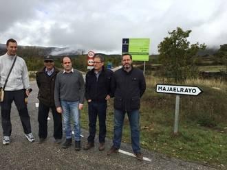 Diputación y Junta acondicionan los caminos de Prádena de Atienza a Cañamares y de Majaelrayo al Puerto de la Quesera