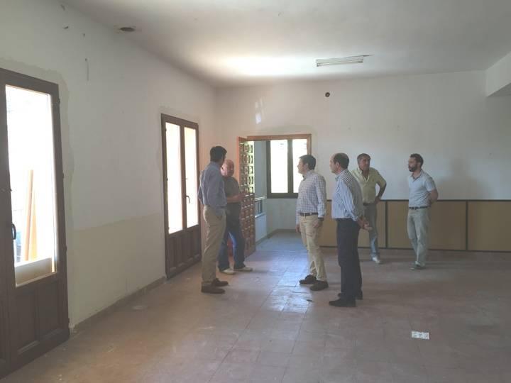 Diputación lleva a cabo reformas en el Ayuntamiento de Alarilla y en el centro de usos múltiples de Taragudo
